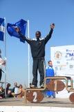 6. Internationales Marathon Alexander der Große Lizenzfreies Stockfoto