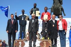 6. Internationales Marathon Alexander der Große Stockfotografie