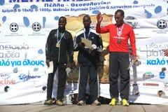 6. Internationales Marathon Alexander der Große Lizenzfreie Stockbilder