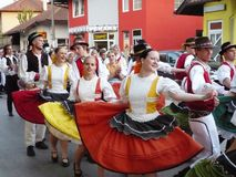 6 internationaly folklore festival Royalty Free Stock Photos