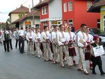 6 internationaly folklorefestival royalty-vrije stock foto's