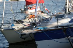 6 jacht Fotografia Royalty Free