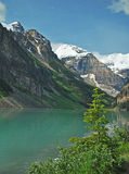 6 jezioro Alberta Canada Louise Fotografia Royalty Free
