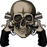 6 jpg czaszka Obraz Stock