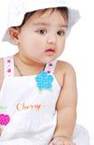 6 månad för 8 spädbarn royaltyfri foto