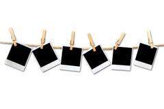 6 marcos del espacio en blanco de la película de la vendimia Fotos de archivo libres de regalías