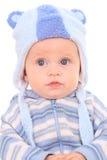 6 meses de bebé Imagem de Stock Royalty Free