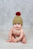 6 meses de bebé idoso Foto de Stock Royalty Free