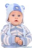 6 mesi di neonata Fotografia Stock