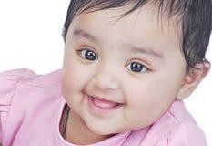 6 mois de 8 enfants en bas âge Photographie stock libre de droits