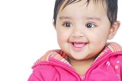 6 mois de 8 enfants en bas âge Image libre de droits