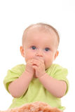 6 mois de bébé Images libres de droits