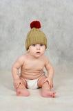6 Monate alte Baby Lizenzfreie Stockfotografie