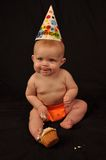 6 month birthday Stock Photos
