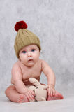 6 MONTHS OLD BABY BOY Stock Image