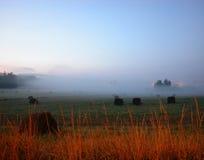 6 morgens Hayfeild Stockfotografie