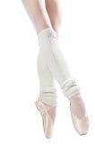6 nogi baletniczych butów Fotografia Royalty Free