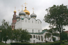 6 novodevichy的女修道院 免版税库存图片