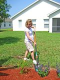 6 ogrodnictwa expectant matka Obrazy Stock