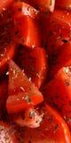 6 oregano ντομάτες Στοκ φωτογραφία με δικαίωμα ελεύθερης χρήσης