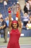6 otwarte 2008 Serena Williams, victor Zdjęcie Royalty Free