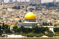 6 panorama Jerusalem Obraz Royalty Free