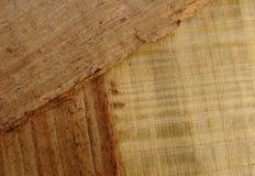 6 papieru wzorzystego drewna Obrazy Stock