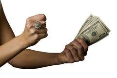 6 pieniądze Zdjęcie Royalty Free