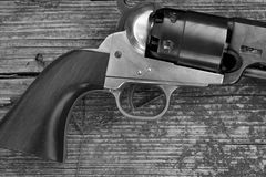 6 pistolet Obraz Stock