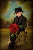6 pojkesmokingbarn Fotografering för Bildbyråer