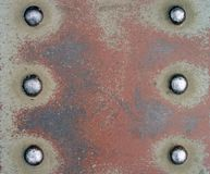 6 rivets Stock Images