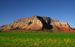 6 rolnej czerwień rock Fotografia Stock