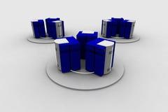 6 sieci Obraz Stock