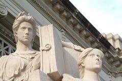 6 sprawiedliwości Obrazy Stock