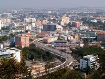6 stad pattaya Arkivfoto