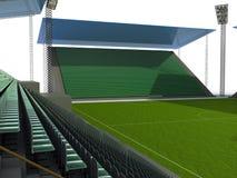 6 stadion futbolowy Zdjęcie Stock