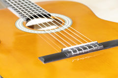 6 string guitar Royalty Free Stock Photo