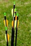6 strzała Zdjęcie Royalty Free