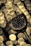 6 szklanek wina Obraz Stock
