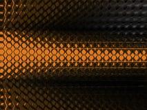 6 tło abstrakcjonistyczna pomarańcze Obrazy Stock