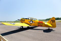 AT-6 Texan Trainer Royalty Free Stock Photography