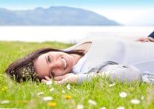 6 uczuć wiosna Fotografia Stock