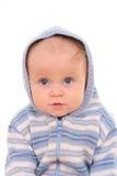 6 van het babymaanden meisje Royalty-vrije Stock Fotografie