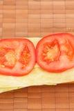 6 vegetarisches schnitzel Стоковое фото RF