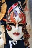 6 venetian maskeringar royaltyfri foto