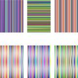 6 vita olika isolerade set band Fotografering för Bildbyråer