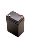 6 Volts battery isolated with clipping path Stock Images