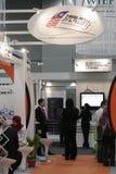 6. Weltislamisches ökonomisches Forum (FRAU) lizenzfreie stockbilder