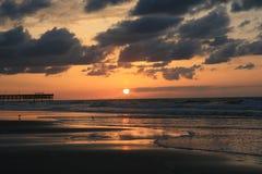 6 wschód słońca Obrazy Royalty Free