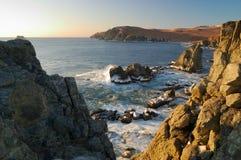 6 wschodni daleko krajobrazowy morze Zdjęcia Stock